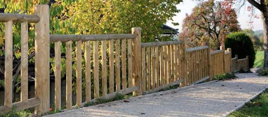 Vallas de madera tecnivall - Vallas para terrenos ...
