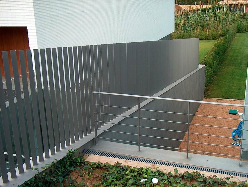 Vallas de perfil macizo angular tecnivall - Vallas de proteccion ...